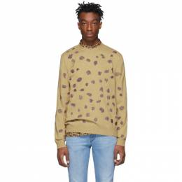 Ps by Paul Smith Tan Embroidered Sweater M2R-436T-A20655