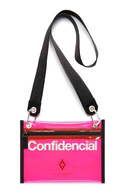 Прозрачная розовая сумка Marcelo Burlon County Of Milan 29127945