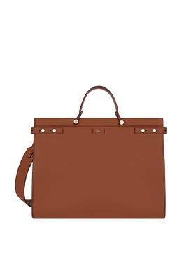 Коричневая сумка Man Mercurio Furla 1962128189