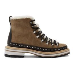 Rag&Bone Tan Suede Compass Boots 192055F11301208GB