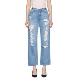 Grlfrnd Blue Rhea Jeans GF40328771046