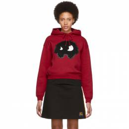 MCQ by Alexander McQueen Red Classic Mad Chester Hoodie 192114F09700305GB