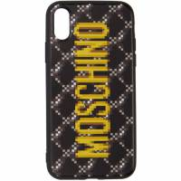 Moschino Black The Sims Edition Quilted iPhone XS/X Case 192720M15301401GB