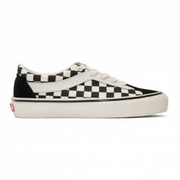 Vans Black and White Checkerboard Bold NI Sneakers 192739M23702717GB