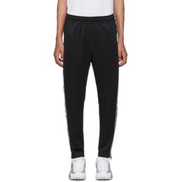 Nike Black Swoosh Tape Track Pants 192011M19000106GB