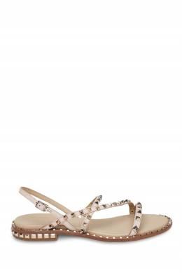 Розовые сандалии с заклепками Ash 6128611