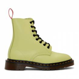 Undercover Yellow Dr. Martens Edition 1460 Boots 192414F11300202GB