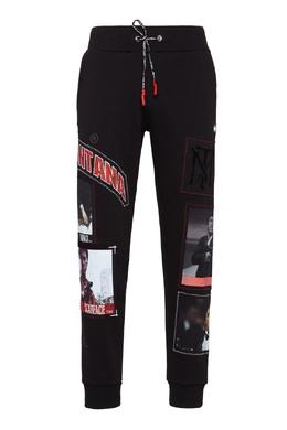 Черные брюки с нашивками Philipp Plein 1795130685