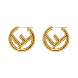 Fendi Gold F is Fendi Earrings 8AG745 B08