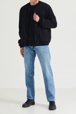 Черный джемпер с логотипом Boss 1166129683
