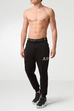 Черные трикотажные брюки Philipp Plein 1795130682