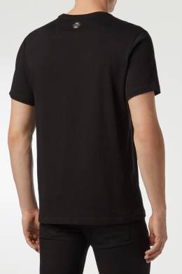 Черная футболка с символом бренда Philipp Plein 1795130755
