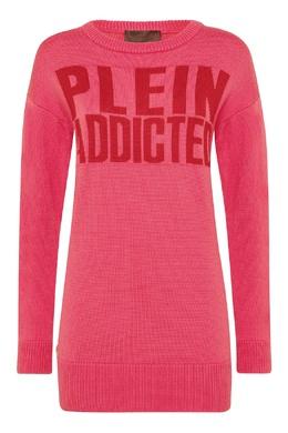 Розовый джемпер с надписью Philipp Plein 1795130859
