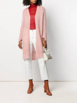 Luisa Cerano кардиган-пальто без застежки 4083775206