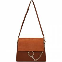 Chloe Brown Medium Faye Bag 192338F04801501GB
