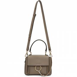 Chloe Grey Mini Faye Day Bag 192338F04700201GB