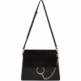 Chloe Black Medium Faye Bag 192338F04801601GB