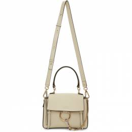 Chloe Off-White Mini Faye Day Bag 192338F04700401GB