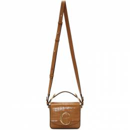 Chloe Brown Mini Croc Chloe C Double Carry Bag 192338F04807201GB