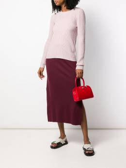 Manu Atelier - сумка-тоут Ladybird размера мини 38589569339500000000