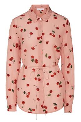Розовая блузка с принтом Alexander Terekhov 74131601