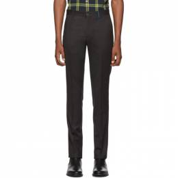 Ps by Paul Smith Black Slim Fit Trousers M2R-911P-A20635