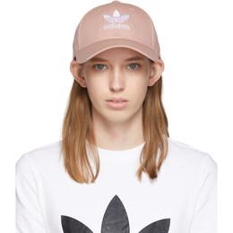 Adidas Originals Pink Trefoil Baseball Cap 192751F01600201GB