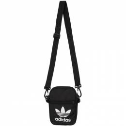 Adidas Originals Black Trefoil Festival Bag 201751M17028001GB