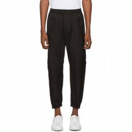Dsquared2 Black Zip Lounge Pants 192148M19000205GB