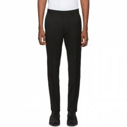 Dsquared2 Black Wool Cady Admiral Trousers 192148M19100302GB
