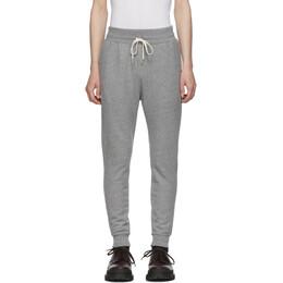 John Elliott Grey Ebisu Loung Pants 192761M19000702GB