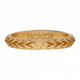 Emanuele Bicocchi Gold Arrow Ring 192883M14700702GB