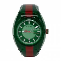 Gucci Green and Red G-Sync Watch 192451M16500601GB
