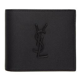 Saint Laurent Black Monogramme East/West Wallet 453276BTY0U