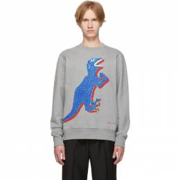 Ps by Paul Smith Grey Dino Regular Fit Sweatshirt M2R-027R-AP1263
