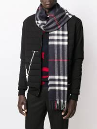 Burberry - классический кашемировый шарф в клетку 55509568933500000000