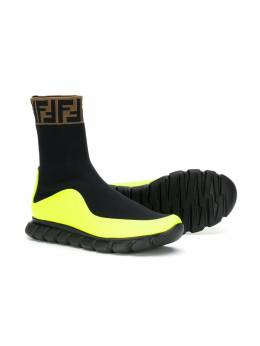 Fendi Kids slip-on sock-style sneakers JMR289A8CL