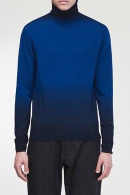 Синяя водолазка с эффектом омбре Dries Van Noten 1525134184