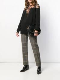 Givenchy - брюки прямого кроя в клетку 68D99XW9596690600000