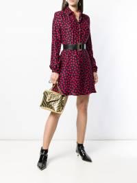 Saint Laurent - платье в горох 656Y965T933555000000