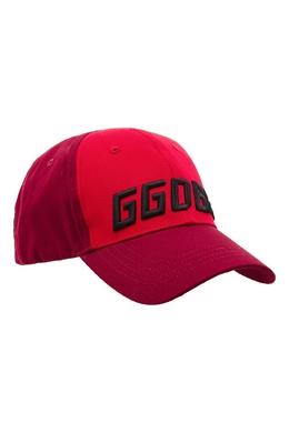 Красная бейсболка Jackie Golden Goose 1690134051