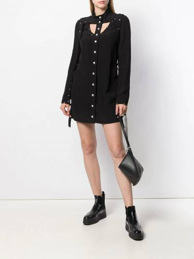 Courrèges - платье мини с заклепками R6355095639690000000 - 2