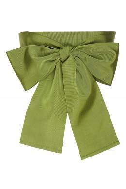 Зеленый текстильный пояс Sara Roka 2933134601