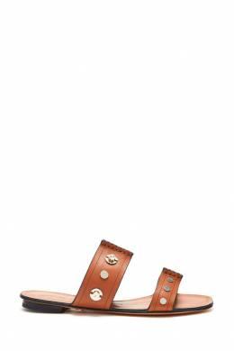 Шлепанцы коричневого цвета Lola Cruz 1698135270