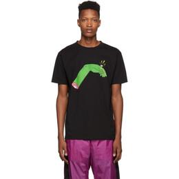 Marcelo Burlon County Of Milan Black Hand Ring T-Shirt 192539M21301503GB