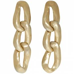 Marni Gold Chain-Link Earrings 192379F02200201GB