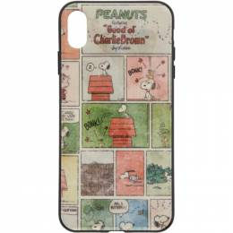 Marc Jacobs Multicolor Peanuts Edition Comic Strip iPhone XS Max Case 192190F03200701GB