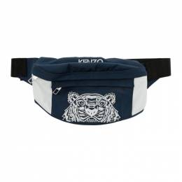 Kenzo Navy Tiger Waist Bag 192387F04501701GB