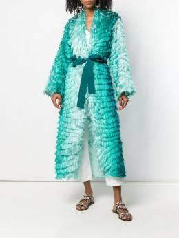 F.R.S For Restless Sleepers - фактурное платье с поясом 66636TE6630993365605