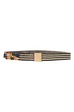 Полосатый ремень с декором Essentiel Antwerp 754132078